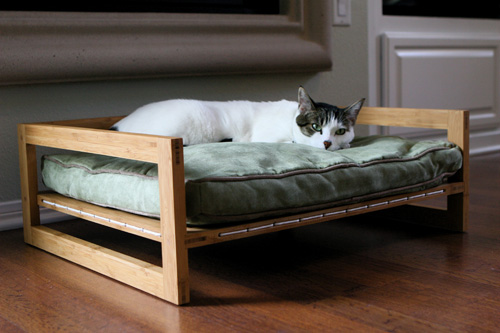 2 Dogleg Elevated Dog Bow by Pet Modern 3 Joey High Back Bed by Pup and Kit  4 Warren Lieu s Cat Cocoon. Blog